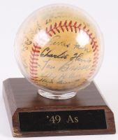 1949 Philadelphia Athletics OAL Baseball Team-Signed by (27) With Lou Brissie, Jimmy Dykes, Ferris Fain, Buddy Rosar, Tod Davis, Carl Scheib, Dick Fowler (JSA LOA) at PristineAuction.com