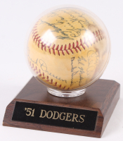 1951 Dodgers Baseball Team-Signed by (16) With Duke Snider, Roy Campanella, Pee Wee Reese, Carl Erskine, Billy Cox, Ralph Branca, Carl Furillo, Bruce Edwards, Erv Palica (JSA LOA)