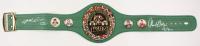 "Thomas ""Hitman"" Hearns & Sugar Ray Leonard Signed WBC Championship Belt (JSA Hologram)"