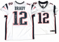 "Tom Brady Signed Patriots LE Jersey Inscribed ""SB 51 MVP"" (Steiner COA & TriStar Hologram) at PristineAuction.com"