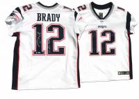 """Tom Brady Signed Patriots LE Jersey Inscribed """"17 NFL MVP"""" (Steiner COA & TriStar Hologram)"""
