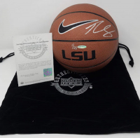 Ben Simmons Signed Limited Edition Nike LSU Tigers Basketball (UDA COA) at PristineAuction.com