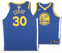 Stephen Curry Signed LE Golden State Warriors Nike Jersey with NBA Finals Patch (Steiner COA)