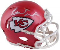Patrick Mahomes Signed Kansas City Chiefs Mini Speed Helmet (Fanatics Hologram) at PristineAuction.com