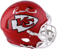 Patrick Mahomes Signed Kansas City Chiefs Full-Size Authentic On-Field Speed Helmet (Fanatics Hologram) at PristineAuction.com