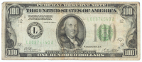 1928-A $100 One Hundred Dollars U.S. Federal Reserve Note