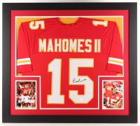 Patrick Mahomes Signed Chiefs 31x35 Custom Framed Jersey (JSA COA)
