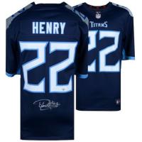 Derrick Henry Signed Titans Jersey (Fanatics Hologram) at PristineAuction.com