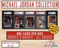 "Sportscards.com's ""Michael Jordan Collection"" – One Premium Hit per Mystery Box!"