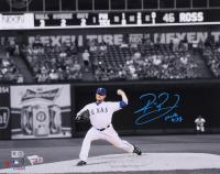 Robbie Ross Jr. Signed Rangers 11x14 Photo (Fanatics Hologram & MLB Hologram) at PristineAuction.com