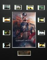 """Captain America"" Limited Edition Original Film / Movie Cell Display"