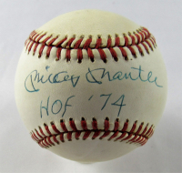 "Mickey Mantle Signed OAL Baseball Inscribed ""HOF '74"" (JSA LOA)"