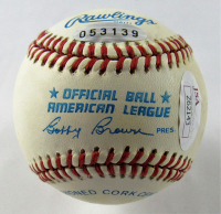 "Mickey Mantle Signed OAL Baseball Inscribed ""HOF '74"" (JSA LOA) at PristineAuction.com"