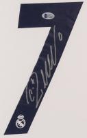 Cristiano Ronaldo Signed Real Madrid 35x43 Custom Framed Jersey (Beckett COA) at PristineAuction.com