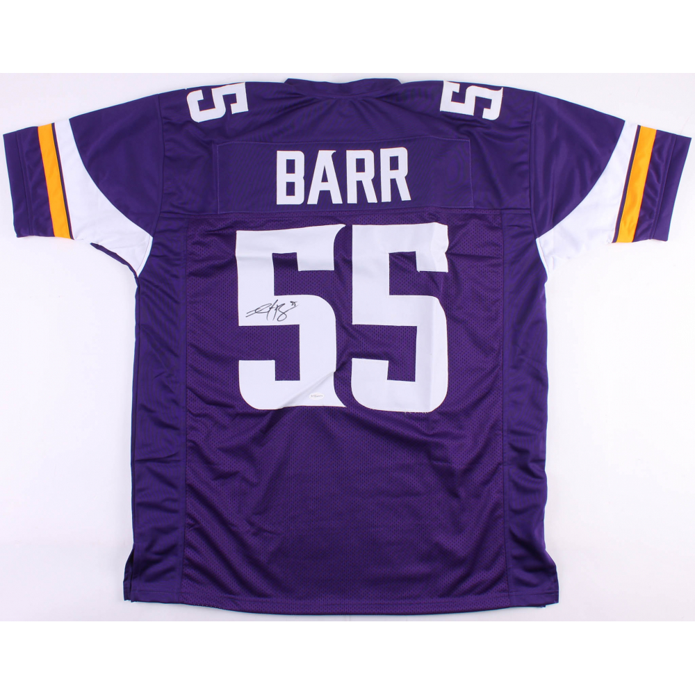 3733bc234ff Anthony Barr Signed Vikings Jersey (TSE COA)