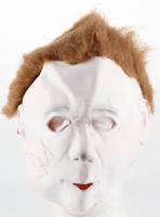 """John Carpenter Signed """"Halloween"""" Full-Size Michael Myers Mask (Beckett COA)"""