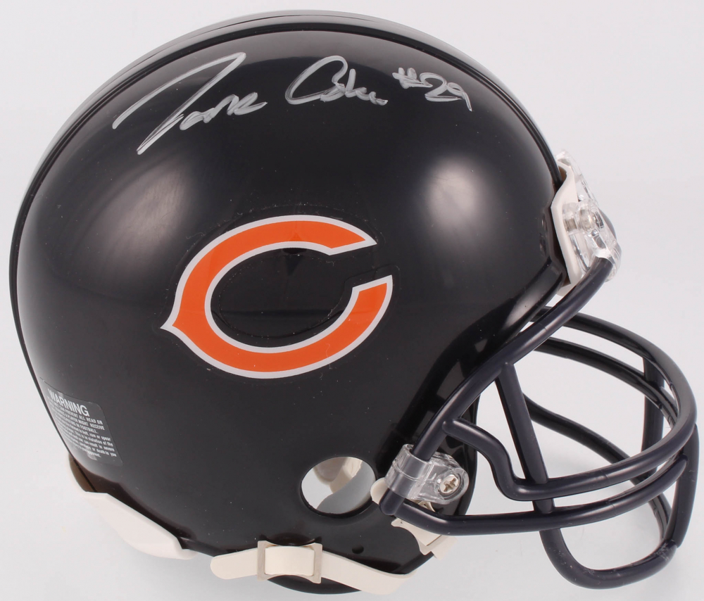 a4f6b3879 Tarik Cohen Signed Bears Mini Helmet (Beckett COA). Beckett Witnessed