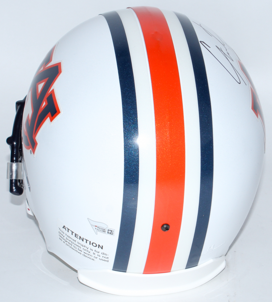 Cam Newton Signed Auburn Tigers Full-Size Helmet Inscribed ...