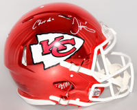 "Tyreek Hill Signed Chiefs Full-Size Authentic On-Field Chrome Speed Helmet Inscribed ""Cheetah"" (JSA COA) at PristineAuction.com"