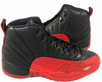 Michael Jordan Signed Air Jordan 12 Basketball Shoes (UDA COA)