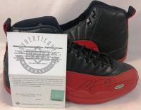 Michael Jordan Signed Air Jordan 12 Basketball Shoes (UDA COA) at PristineAuction.com