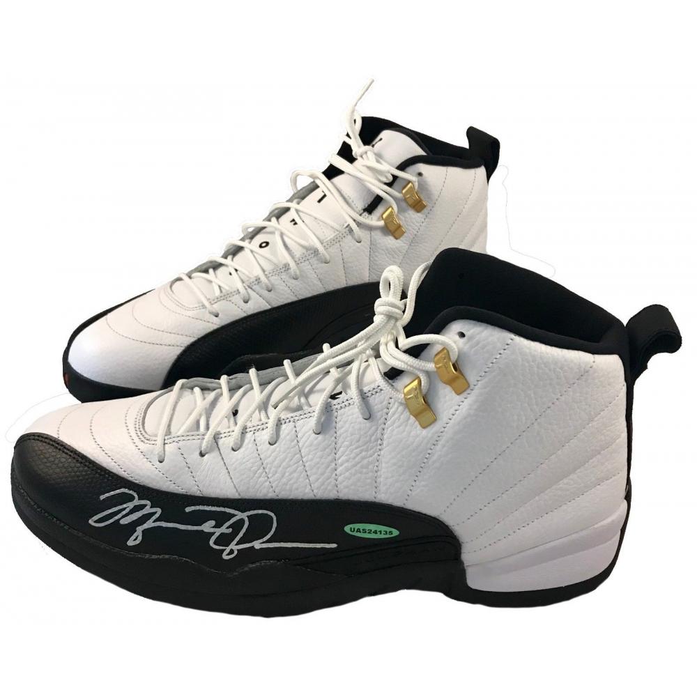 Michael Jordan Signed Air Jordan 12