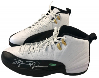 Michael Jordan Signed Air Jordan 12 Retro Basketball Shoes (UDA COA)
