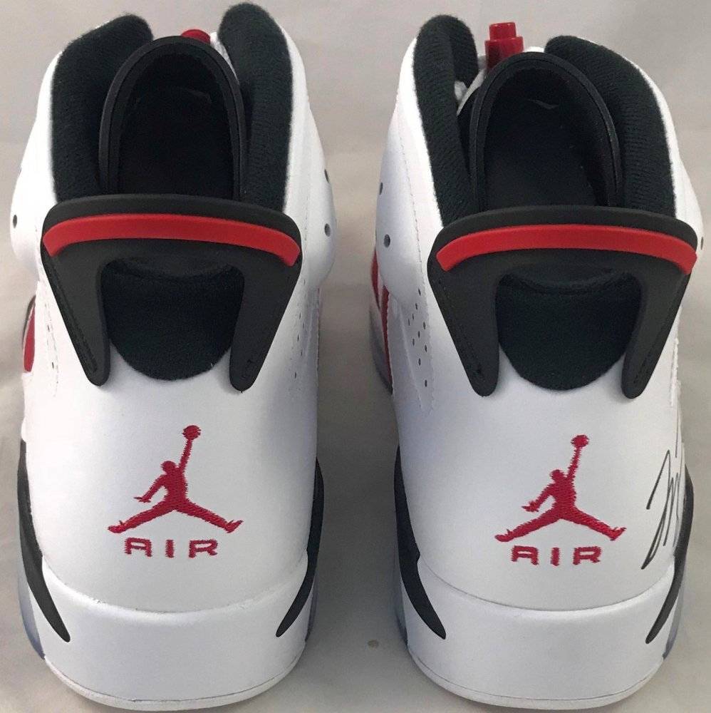 b1f29dbcbd8b9f Michael Jordan Signed Air Jordan 6 Retro Basketball Shoes (UDA COA) at  PristineAuction.