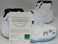 Michael Jordan Signed Air Jordan 11 Retro Basketball Shoes (UDA COA) at PristineAuction.com