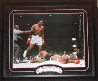 Muhammad Ali Signed 39x47 Custom Framed Photo (JSA LOA)