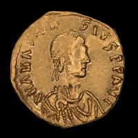 Anastasius I. 491-518 Byzantine Empire AV (Gold) Tremissis, Constantinople Mint Ancient Gold Coin