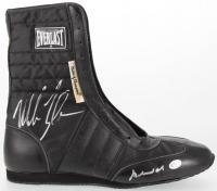 Muhammad Ali & Mike Tyson Signed Everlast Boxing Boots  (Online Authentics COA)