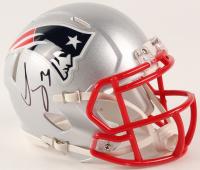 Sony Michel Signed Patriots Speed Mini Helmet (JSA COA) at PristineAuction.com