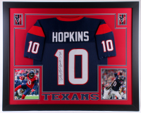 DeAndre Hopkins Signed Texans 35x43 Custom Framed Jersey (JSA COA) at PristineAuction.com