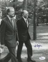 Menachem Begin Signed 8x10 Photo (JSA COA)