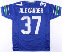 """Shaun Alexander Signed Seahawks Jersey Inscribed """"NFL MVP 05"""" (Beckett COA) at PristineAuction.com"""