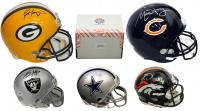 Schwartz Sports Football Superstar Signed Mystery Box Mini Helmet - Series 7 - **Favre & Trubisky Helmet Redemption**