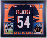 Brian Urlacher Signed 35x43 Custom Framed Jersey (JSA COA) at PristineAuction.com