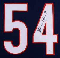 Brian Urlacher Signed 35x43 Custom Framed Jersey (JSA COA) at PristineAuction.com