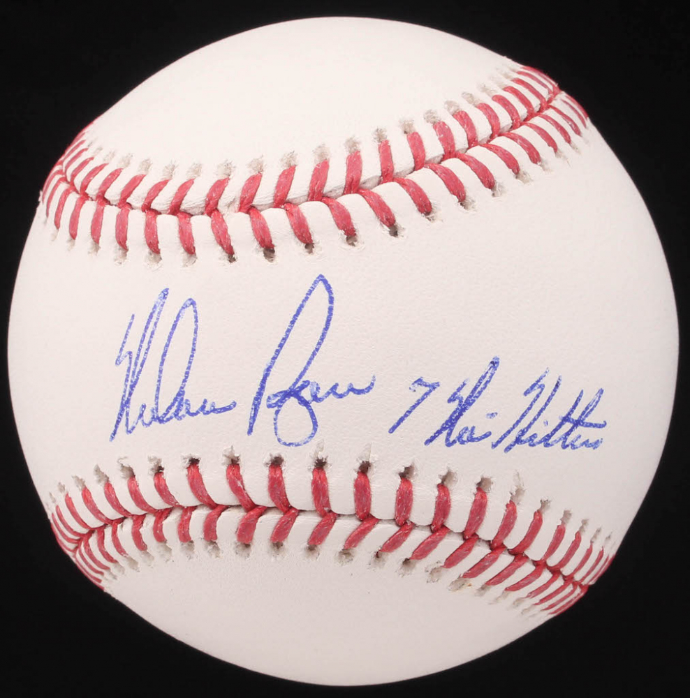 a7fc75346bd Nolan Ryan Signed OML Baseball Inscribed