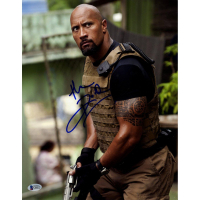 "Dwayne ""The Rock"" Johnson Signed ""Fast and Furious"" 11x14 Photo (Beckett COA)"