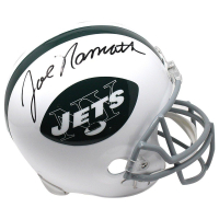Joe Namath Signed Jets Full Size Throwback Helmet (Steiner COA)