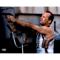 "Bruce Willis Signed ""Die Hard"" 11x14 Photo (Beckett COA)"