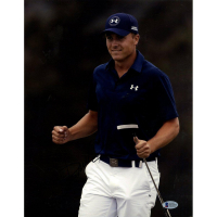 Jordan Spieth Signed 11x14 Photo (Beckett COA) at PristineAuction.com