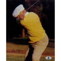 Ben Hogan Signed 8x10 Photo (Beckett COA)