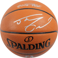 Shaquille O'Neal Signed Spalding NBA Basketball with (7) Career Stat Inscriptions (Steiner COA) at PristineAuction.com