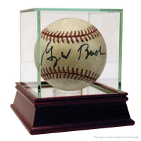 President George W. Bush Signed OAL Baseball (JSA COA) at PristineAuction.com