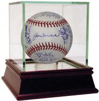 2002 New York Yankees OML Baseball Team-Signed by (31) with Derek Jeter, Bernie Williams, Andy Pettitte, Mariano Rivera (JSA Hologram)