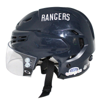 Vin Lettieri Game Used Rangers Helmet (Steiner COA)