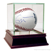 Eric Clapton Signed OML Baseball (JSA COA)